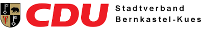 CDU Stadtverband Bernkastel-Kues Logo